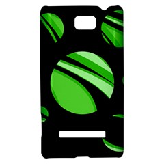 Green balls   HTC 8S Hardshell Case