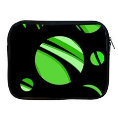 Green balls   Apple iPad 2/3/4 Zipper Cases