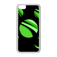 Green balls   Apple iPhone 5C Seamless Case (White)