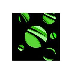 Green balls   Satin Bandana Scarf