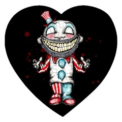 Super Secret Clown Business II  Jigsaw Puzzle (Heart)