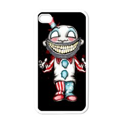 Super Secret Clown Business II  Apple iPhone 4 Case (White)