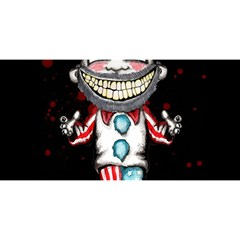 Super Secret Clown Business II  YOU ARE INVITED 3D Greeting Card (8x4)