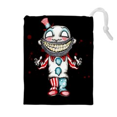 Super Secret Clown Business Ii  Drawstring Pouches (extra Large)