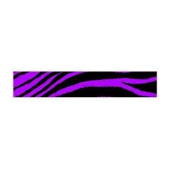 Purple Zebra Flano Scarf (mini)