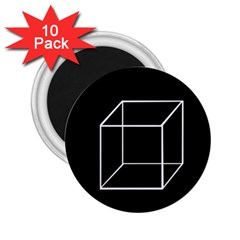 Simple Cube 2.25  Magnets (10 pack)