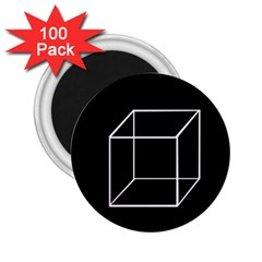 Simple Cube 2.25  Magnets (100 pack)