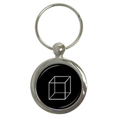 Simple Cube Key Chains (Round)
