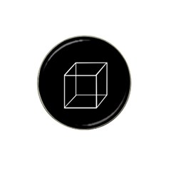 Simple Cube Hat Clip Ball Marker