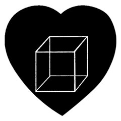 Simple Cube Jigsaw Puzzle (Heart)