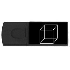 Simple Cube USB Flash Drive Rectangular (4 GB)