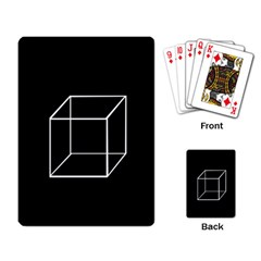 Simple Cube Playing Card