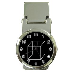 Simple Cube Money Clip Watches