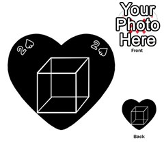 Simple Cube Playing Cards 54 (Heart)