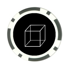 Simple Cube Poker Chip Card Guards
