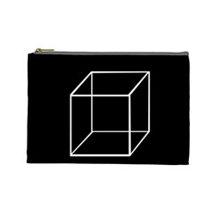 Simple Cube Cosmetic Bag (Large)