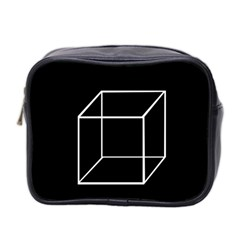 Simple Cube Mini Toiletries Bag 2-Side