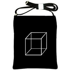 Simple Cube Shoulder Sling Bags