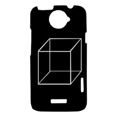 Simple Cube HTC One X Hardshell Case