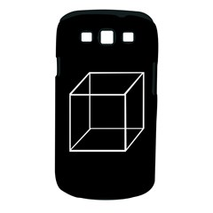Simple Cube Samsung Galaxy S III Classic Hardshell Case (PC+Silicone)