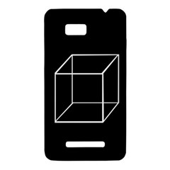 Simple Cube HTC One SU T528W Hardshell Case