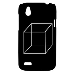 Simple Cube HTC Desire V (T328W) Hardshell Case