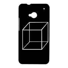 Simple Cube HTC One M7 Hardshell Case