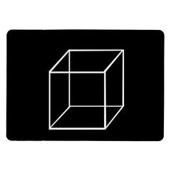Simple Cube Samsung Galaxy Tab 10.1  P7500 Flip Case