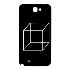Simple Cube Samsung Note 2 N7100 Hardshell Back Case