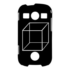 Simple Cube Samsung Galaxy S7710 Xcover 2 Hardshell Case