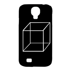 Simple Cube Samsung Galaxy S4 Classic Hardshell Case (PC+Silicone)