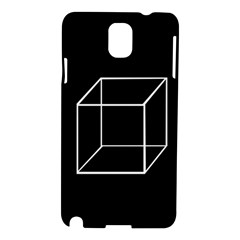 Simple Cube Samsung Galaxy Note 3 N9005 Hardshell Case