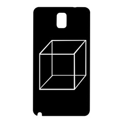 Simple Cube Samsung Galaxy Note 3 N9005 Hardshell Back Case