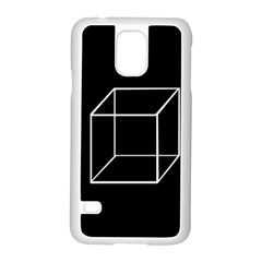 Simple Cube Samsung Galaxy S5 Case (White)