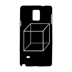Simple Cube Samsung Galaxy Note 4 Hardshell Case