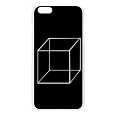 Simple Cube Apple Seamless iPhone 6 Plus/6S Plus Case (Transparent)