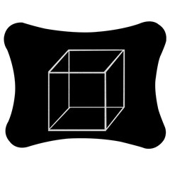 Simple Cube Jigsaw Puzzle Photo Stand (Bow)