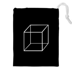Simple Cube Drawstring Pouches (XXL)