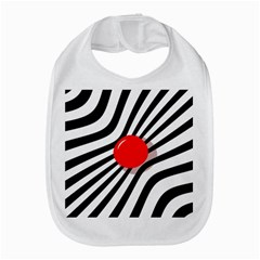Abstract Red Ball Bib