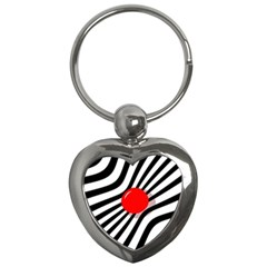 Abstract red ball Key Chains (Heart)