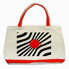 Abstract red ball Classic Tote Bag (Red)