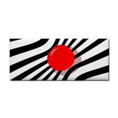 Abstract red ball Hand Towel