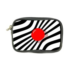 Abstract red ball Coin Purse