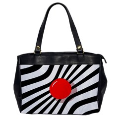 Abstract red ball Office Handbags