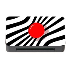 Abstract red ball Memory Card Reader with CF