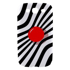 Abstract red ball Samsung Galaxy S III Hardshell Case