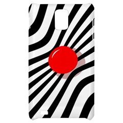 Abstract red ball Samsung Infuse 4G Hardshell Case