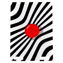 Abstract red ball Kindle Touch 3G