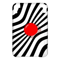 Abstract red ball Kindle 3 Keyboard 3G