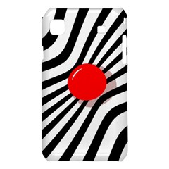 Abstract red ball Samsung Galaxy S i9008 Hardshell Case